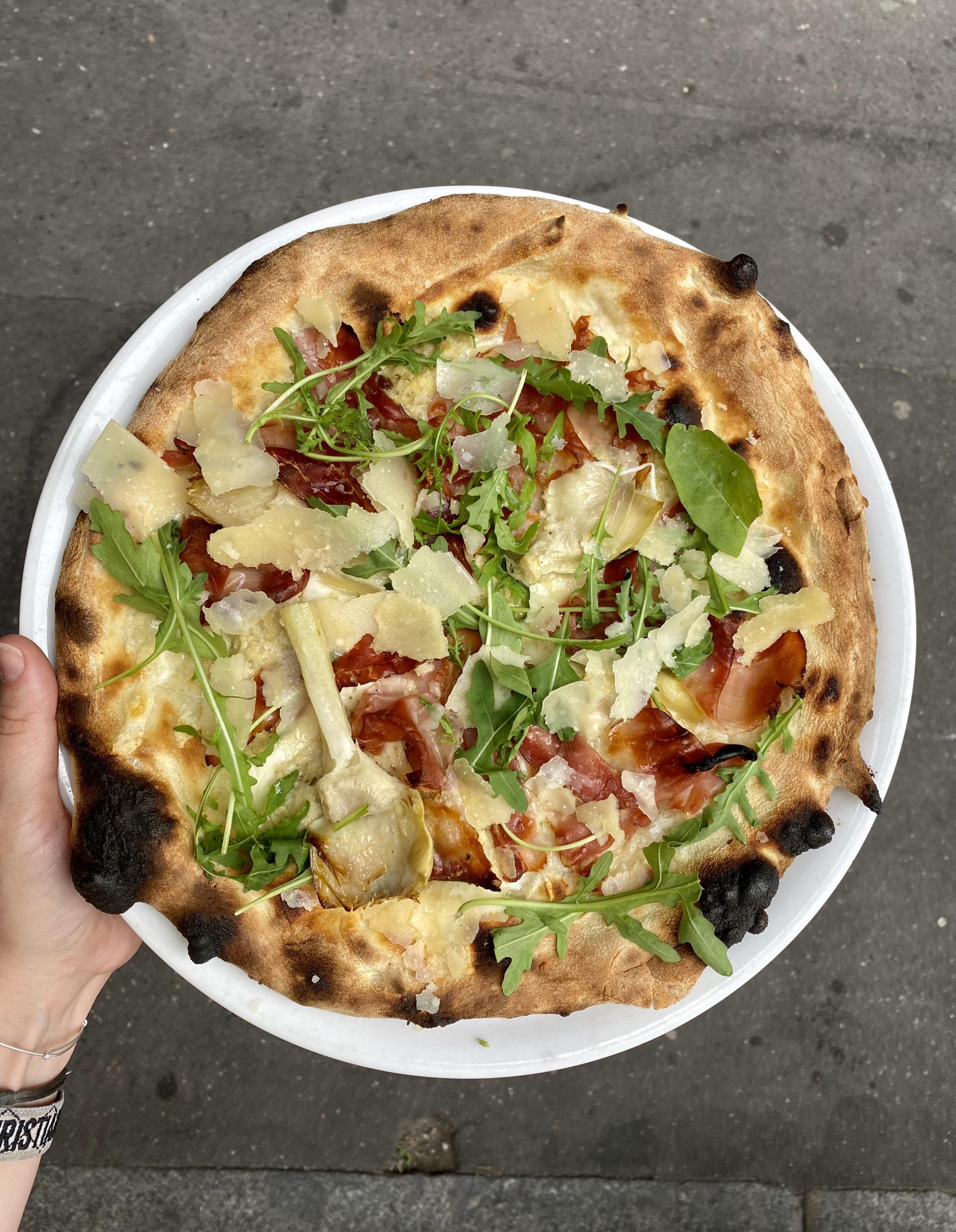 batignolles lesbatignolles paris paris17 blog food yummy pizza pizzeria italianfood cucuzza burrata restaurantitalien